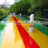 Strong adhesive strength water based on polyurethane asphalt waterproof coating