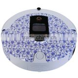 Blue and White china Housekeeping Auto Recharge Quick Easy Mop Robotic Vacuum Cleaner Robot Vacuum Cleaner Floor Cleaning