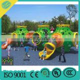 Different style wall mounted games kids outdoor climbing wall