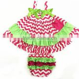wholesale baby christmas polka dot swing set with bloomer set baby boutique swing set