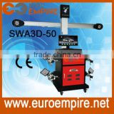Good stability & accuracy HD Camera and shielded target 3D wheel alignment equipment