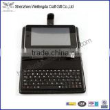 Top grade unique design handmade 8 inch tablet pc case with keyboard                                                                         Quality Choice