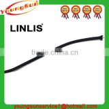 Wholesale high quality 3mm black color custom polyester round elastic band for bags,garment