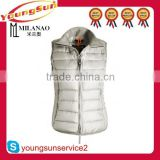2015 autumn/winter warm duck down vest women vest
