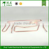Heat transfer parts garment steamer copper fittings heater tube