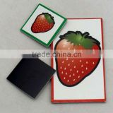 New design beautiful fruit shape fridge magnet for promotion