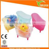 wing style storage box colorful Transparent Bathroom