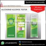 Quick Portable Disposable Breathalyzer/Breath Alcohol Tester