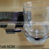 large rectangle back base plate stainless steel holder clear Tumbler and holder