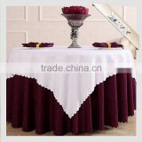 TC-56 120 Round Crochet Christmas Tablecloth