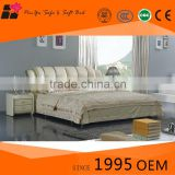Hot sell high quality living room furniture, modern double bed, comfortable wood furniture in bedroom