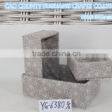 China factory directly sale home decor fast food fabric baskets