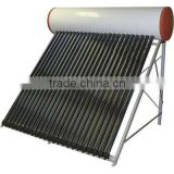 heat pipe pressurized solar hot heater (direct solar system)