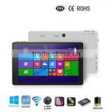 Bluetooth Wifi 7 8 Inch Windows Tablet PC Windows Win10 Android 5.1Dual OS