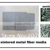 sintered metal filter felt for polymer filtration
