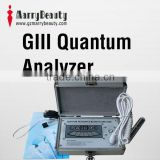 GIII 2013 Quantum Magnetic Resonance Body Analyzer English Spanish French Chinese 38 reports