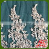 New Arrival Sequins Embroidery Tulle Lace Fabric Wholesale                                                                         Quality Choice
