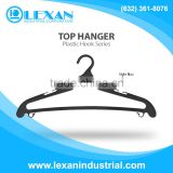 "S17 / Bar- 17"" Plastic Hanger with Plastic Hook for Tops, Shirt, Blouse (Philippines)"