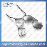 custom cool fahional stamped brass metal men sunglass shape dog tag
