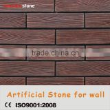 Fire proof solid surface exterior wall coating cement wooden tile