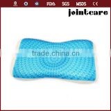 wholesale cooling gel bed pillow; ice gel reusaable cooling pillow;soft memory foam gel pillow
