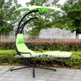 Luxury outdoor garden hammock swing, canopy hammock swing chair