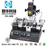 smt pick and place machine BGA rework station for mobile phones pcb repairing dinghua DH-A08 cheaper soldering machine