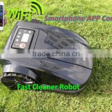 The 4th Generation Smartphone App Control Robot Lawn Mower Tractor With Water-proofed Charger