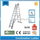 Aluminum metal bunk beds ladders