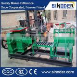 Manuel clay brick machine, cutter and extruder together customize capacity range 2000-200000pcs/day