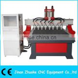 8 Heads CNC Router For Relief ZK-1325-8