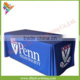 Promotional custom design advertising fabric table cloths