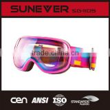 High quality snow goggles with en174 certificate by Taiwan professional snow goggle factory