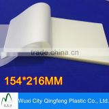 A5 154*216mm Glossy Laminate Pouch Factory Supplier For School Office Lamination Film Clear Laminating Sheets