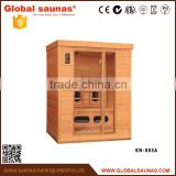 luxury outdoor home portable health care products far infrared russian sauna room gym equipment