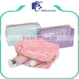 Women travel clear pvc cosmetic bag/transparent makeup bag                                                                                                         Supplier's Choice