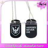 2016 Wholesale item couple military dog tags,inspirational dog tag,custom wholesale dog tags
