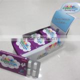 blueberry flavor cool fresh blister card packaging dry chewing gum