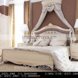 New Classic European And America Style Carved Bedroom Furniture Bed Bedside table Wardrobe Dressing table Bench Royal Chair