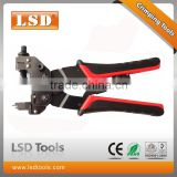LS-DE156 compression crimping tool for RG59 RG6 F BNC RCA connectors waterproof crimping tool 3 in1multi tools CCTV/CATV crimper