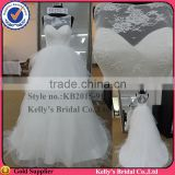 Real sample tramperant top Best selling ruffled skirt of zuhair murad wedding dresses