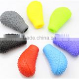 New design auto cars gear silicone cover / parking brake silicone cover set / Handbrake Cover