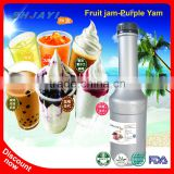 Hot Selling Purple Yam Jam Fruit Juice Jam Flavors Recipes Bubble Tea Ingredients Factory