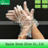 S,M,L,CPE/ PE gloves clear color and other colors