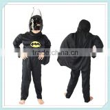 HALLOWEEN Muscle Bat man Bat Robin Hero Outfit Boy Kid Party Cosplay Costume Muscle Bat Man Child Boy Costume