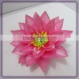 artificial floating silk stocking lotus flower heads(AM-F-67)