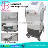 Portable Germany Import Tude E-light+IPL+RF Machine Vascular Treatment Beauty Shr Equipment For Sale