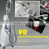 HOT Velashape! Vacuum Mechanical Rolling Vacuum Wrinkle Removal Massage Machine With Cavitation 40K System Skin Care
