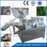Factory price stainless steel double speed meat vegetable bowl chopper /Frozen meat bowl cutter