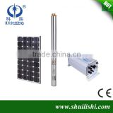 solar dc submersible water pumping machine,Factory supply wholesale price for solar pump